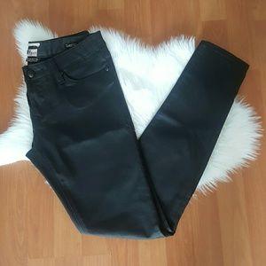 Rerock for Express black coated legging pants 2R